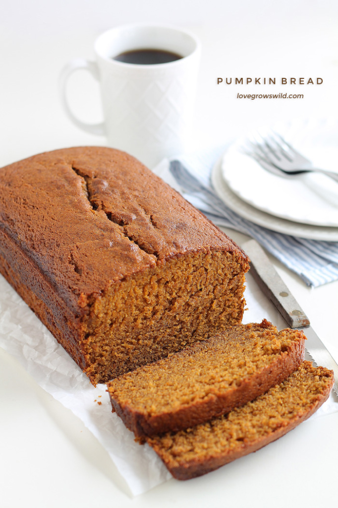 Fall in Love with Fall - Pumpkin bread