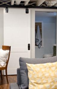 How to updated your plain door into a sliding paneled door