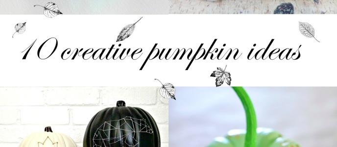 Creative Pumpkin Ideas – Inspiration Gallery Features