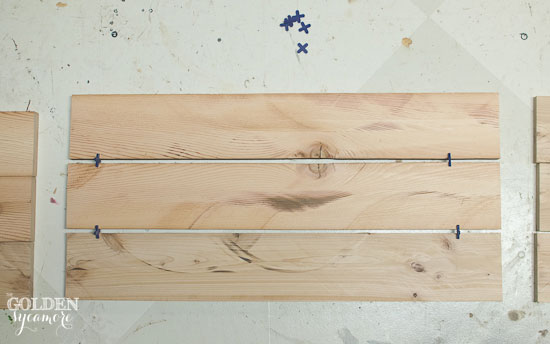 Build DIY Christmas tree stand box out of old 2x4 wood