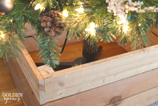 How to build a box for your Christmas tree stand
