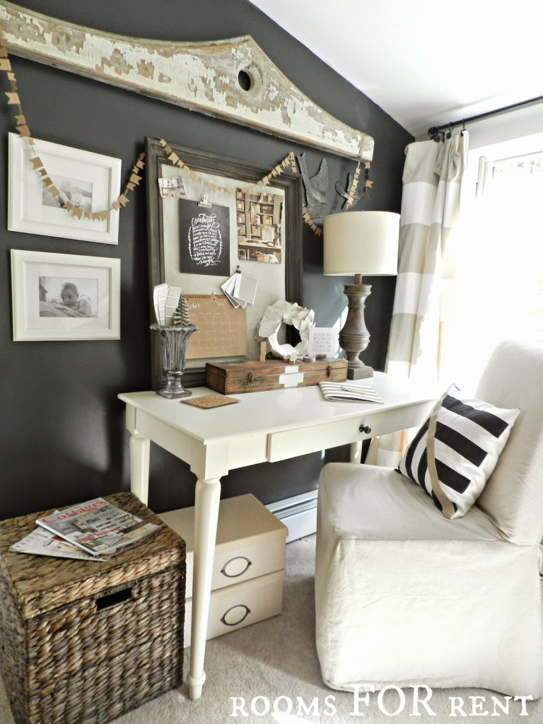 Simple Rustic Farmhouse Living Room
