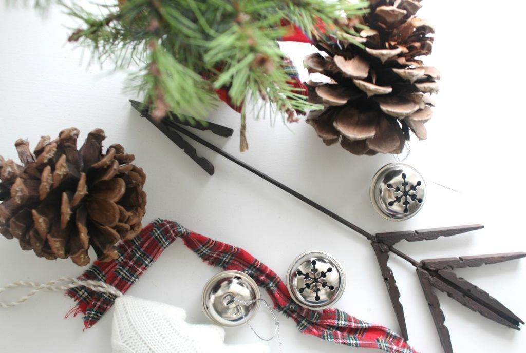 DIY clothespin arrows