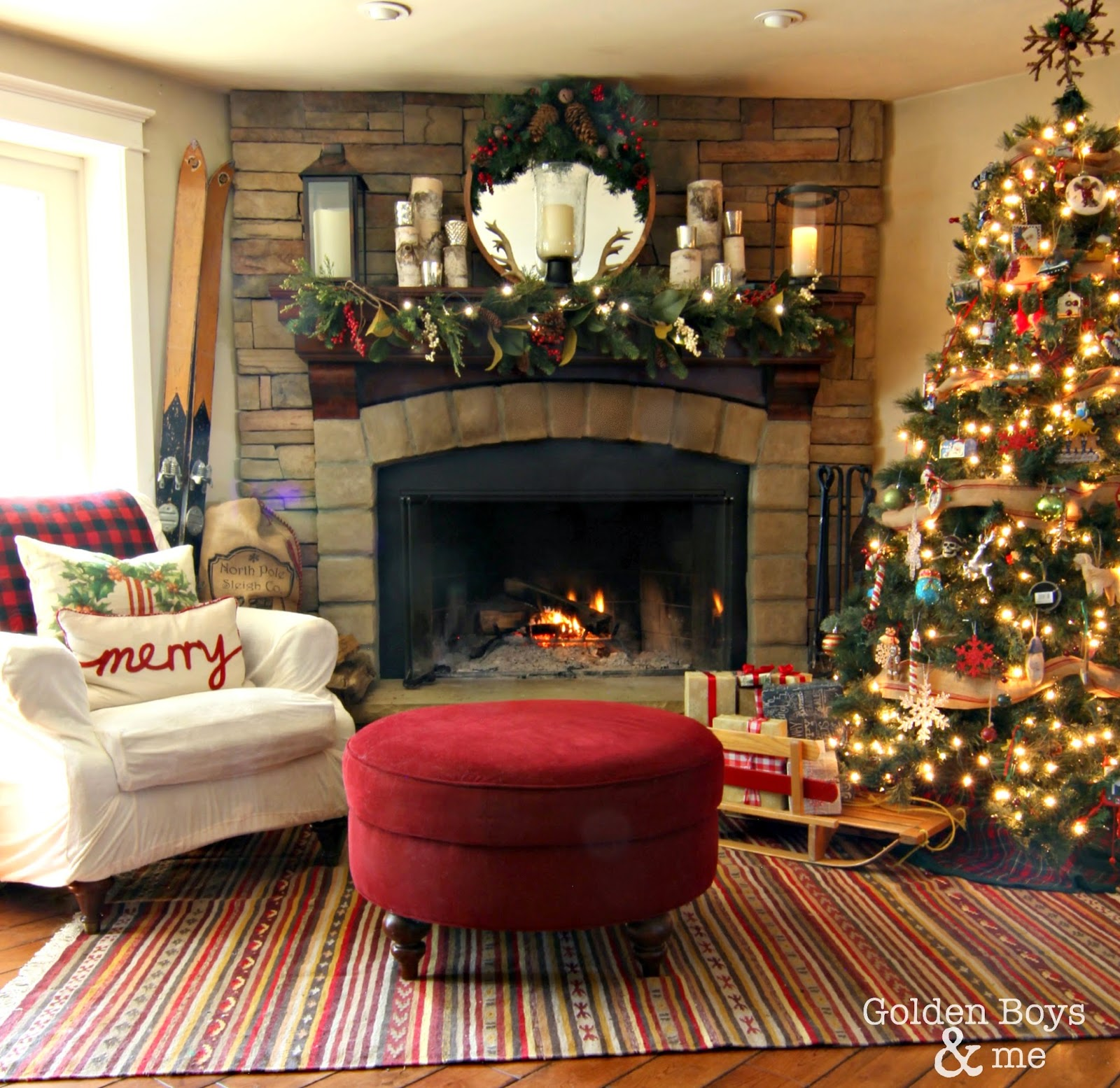 25 Beautiful Christmas Ideas Link Party Features The Golden Sycamore