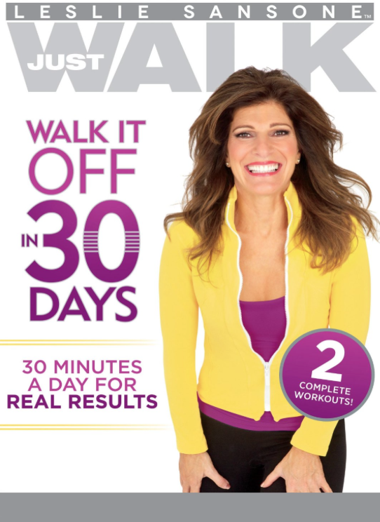 Walk it Off in 30 Days DVD