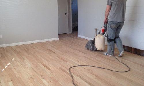 Refinishing our Hardwood Floors