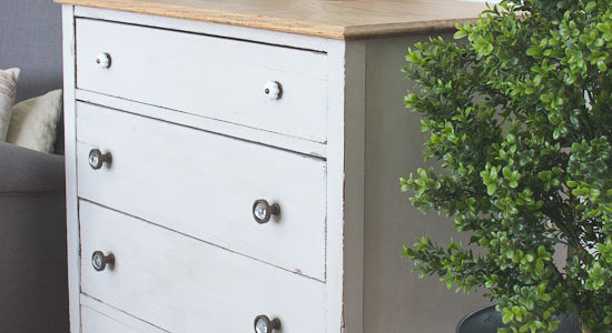 Gray Salvaged Dresser
