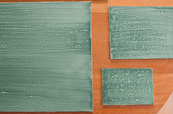 Painting Metal With Milk Paint And Bonding Agent To Make Chalkboards