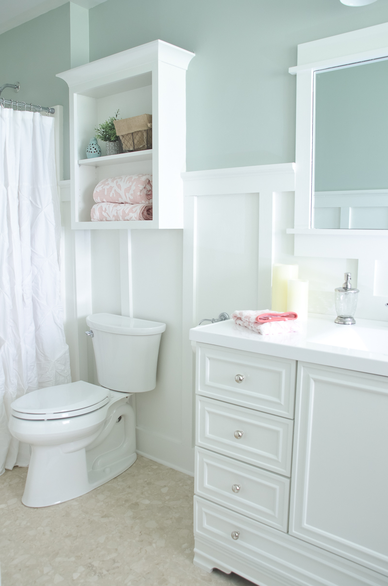 Beautiful  Lowe us Spring Bathroom Makeover