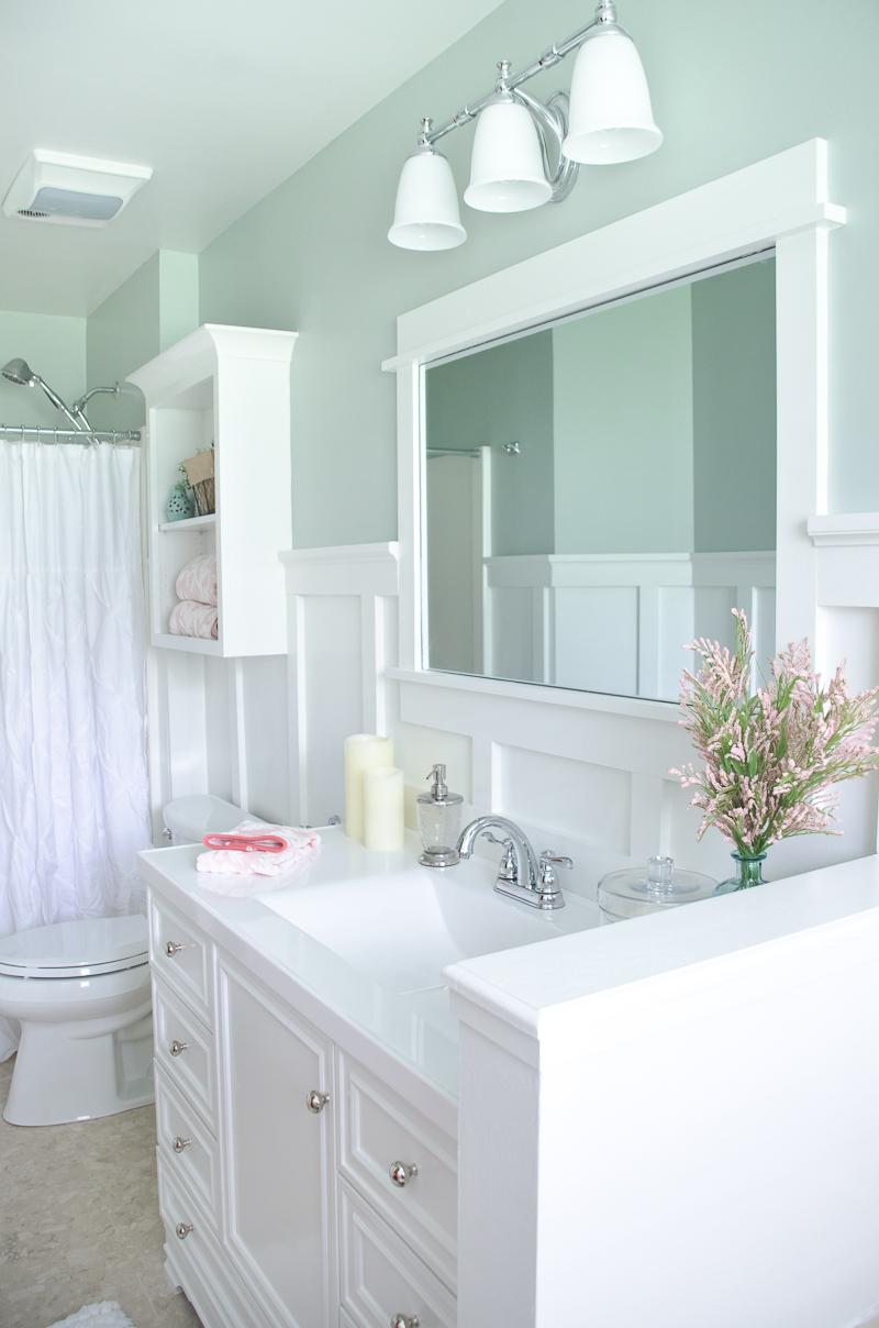 Spectacular Lowe us Spring Bathroom Makeover
