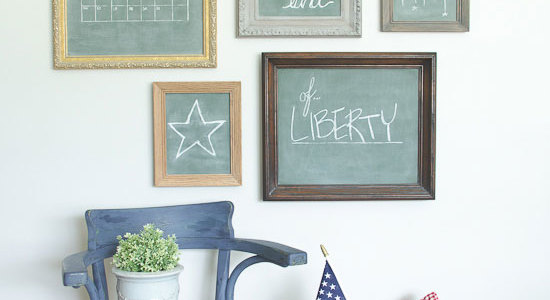 Gallery Wall Patriotic Decor