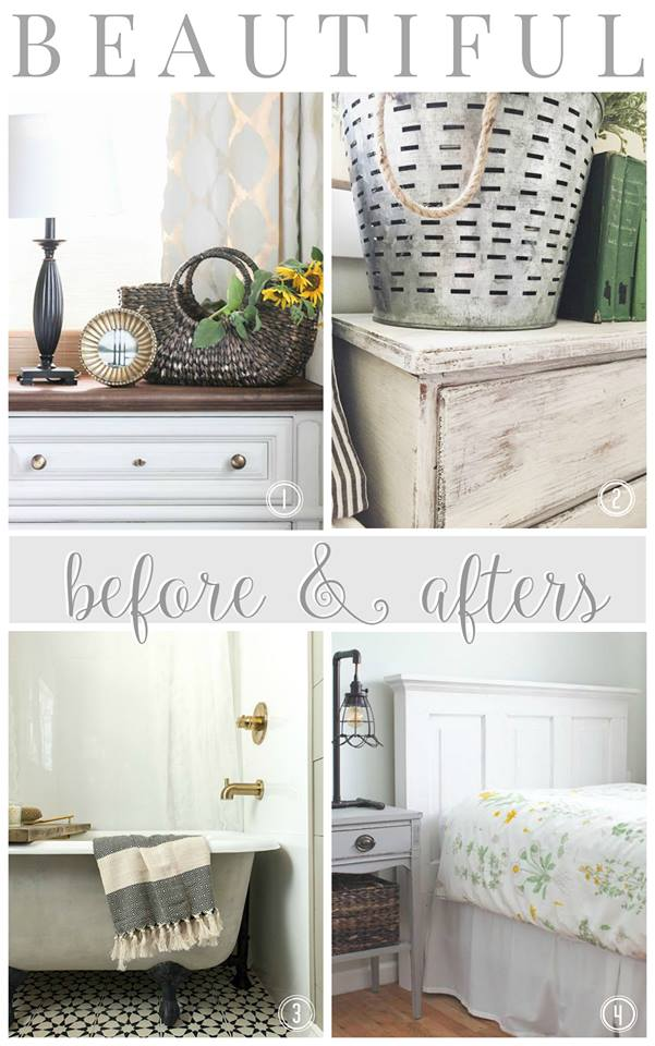 Beautiful, neutral before & afters!