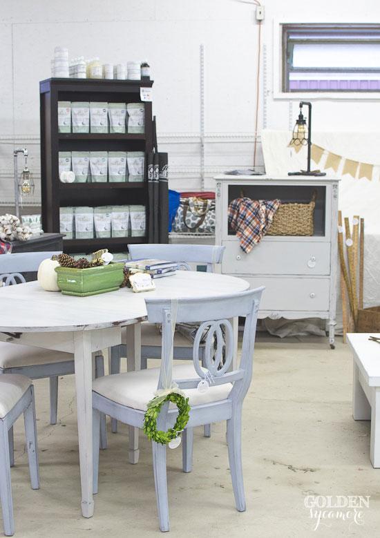 2015 Painted Farmgirl Flea Market - The Golden Sycamore Display