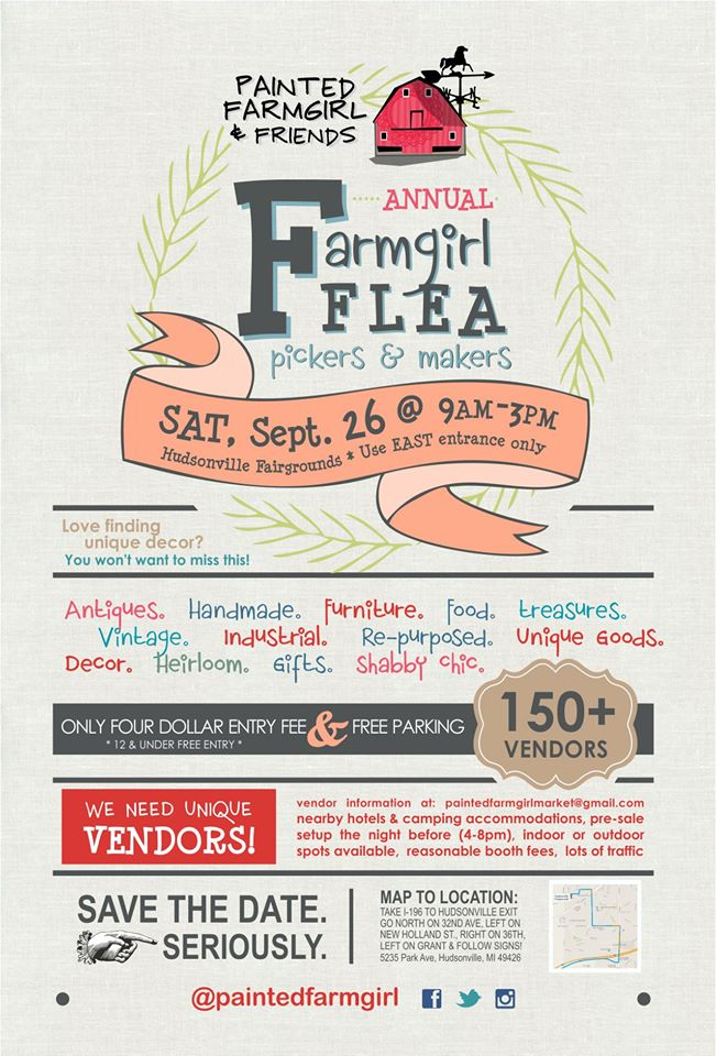 2015 Painted Farmgirl Flea Market