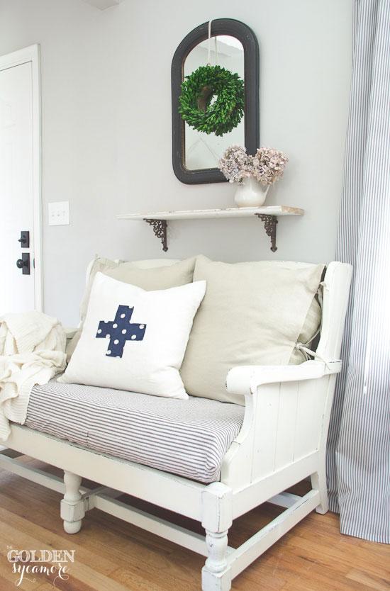 Ethan Allen Cozy Cottage Sofa Makeover ...
