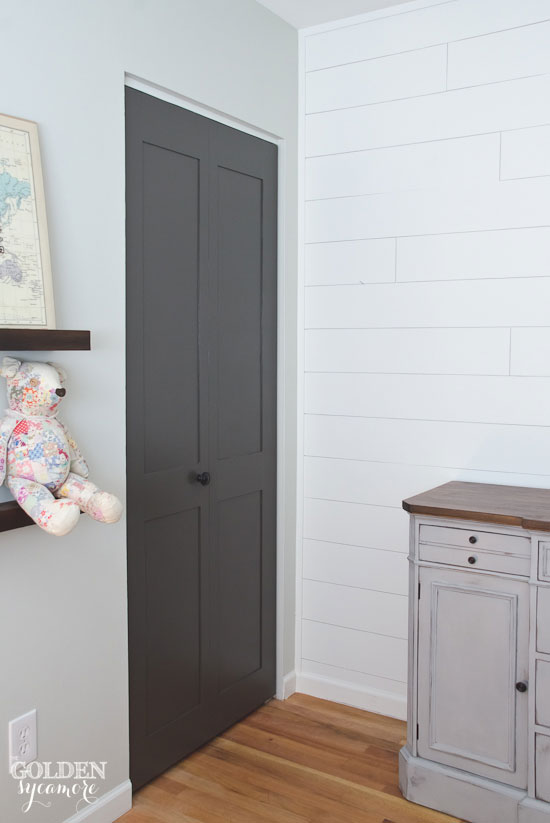 How to add personality to your boring flat doors