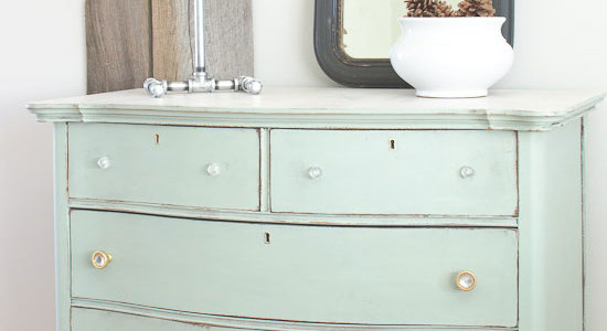 Layla's Mint Dresser & a Couple Things About Technique