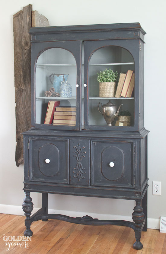 bella wood hutch furnishings gorgeous turning vintage beauty into old an china a collectible cabinet
