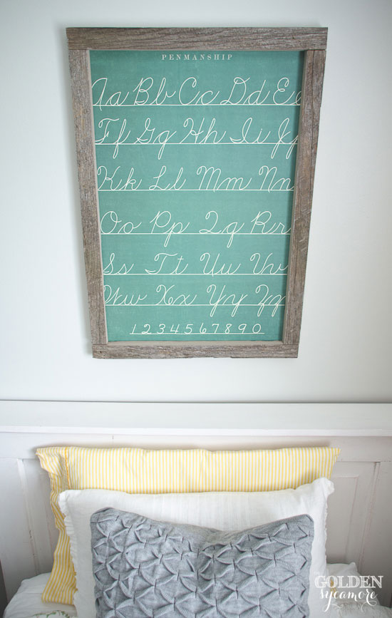 Easy kids' wall art idea