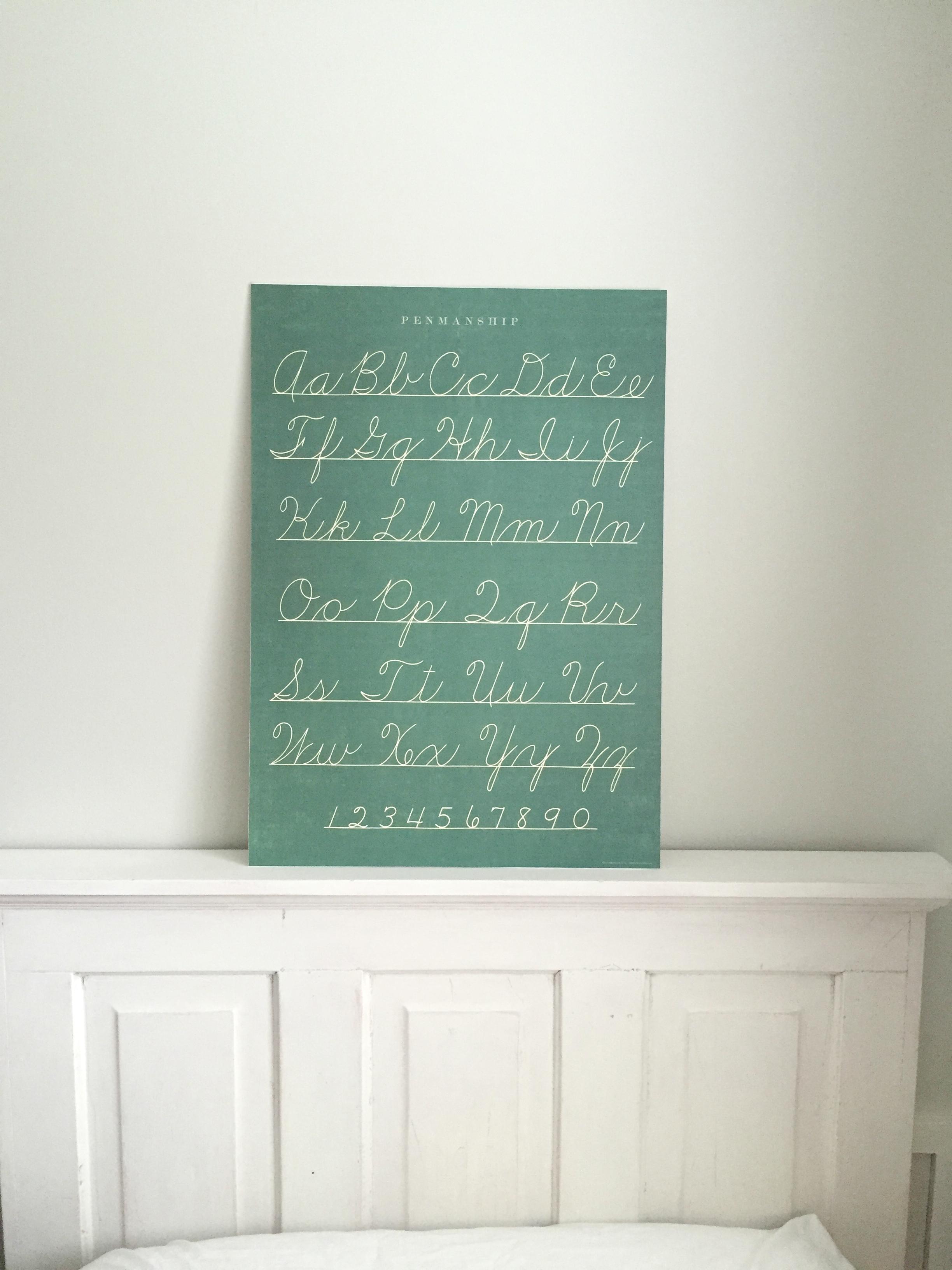 faux chalkboard art