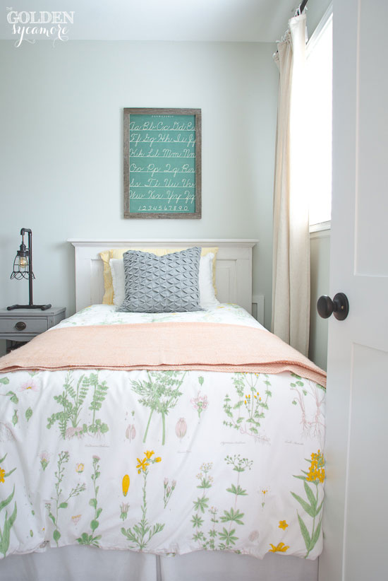 Cottage style girl bedroom update