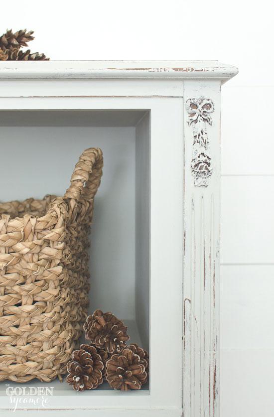 Gorgeous dresser details