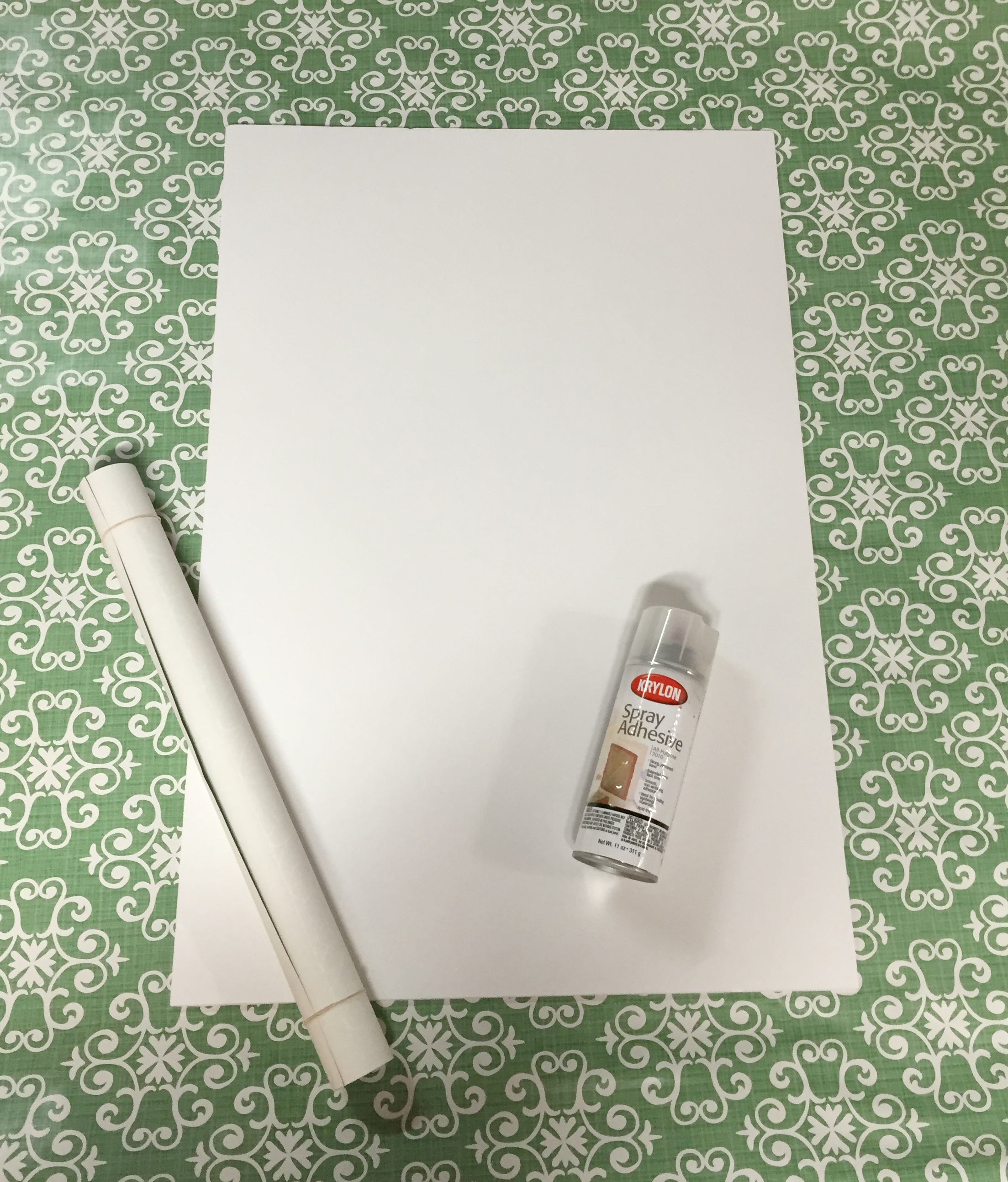 how to make easy wall art out of wrapping paper