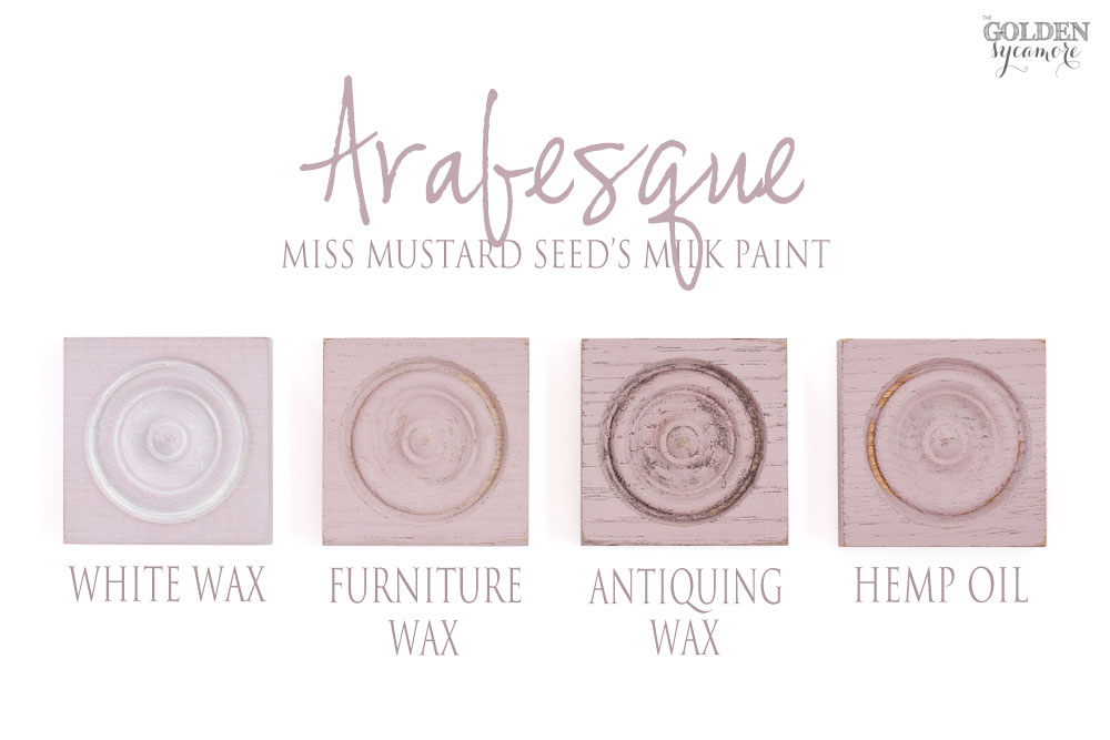 Miss Mustard Seed's Milk Paint European colors & finishes - Arabesque