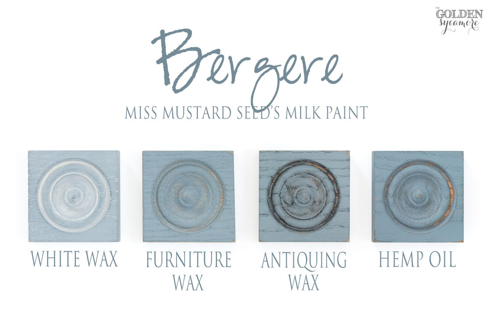 Miss Mustard Seed's Milk Paint European colors & finishes - Bergere