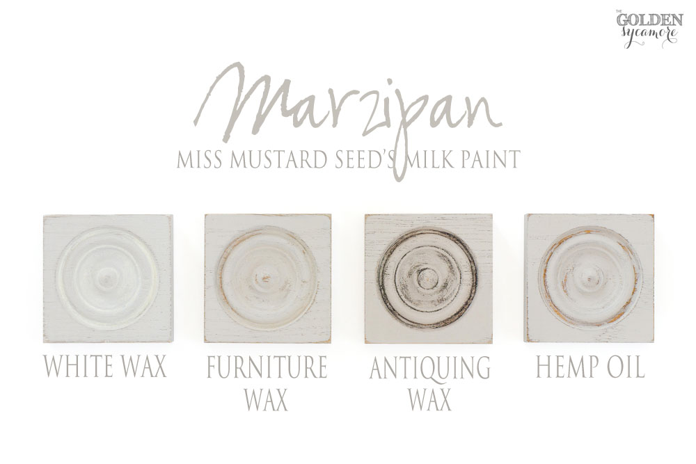Miss Mustard Seed's Milk Paint European colors & finishes - Marzipan