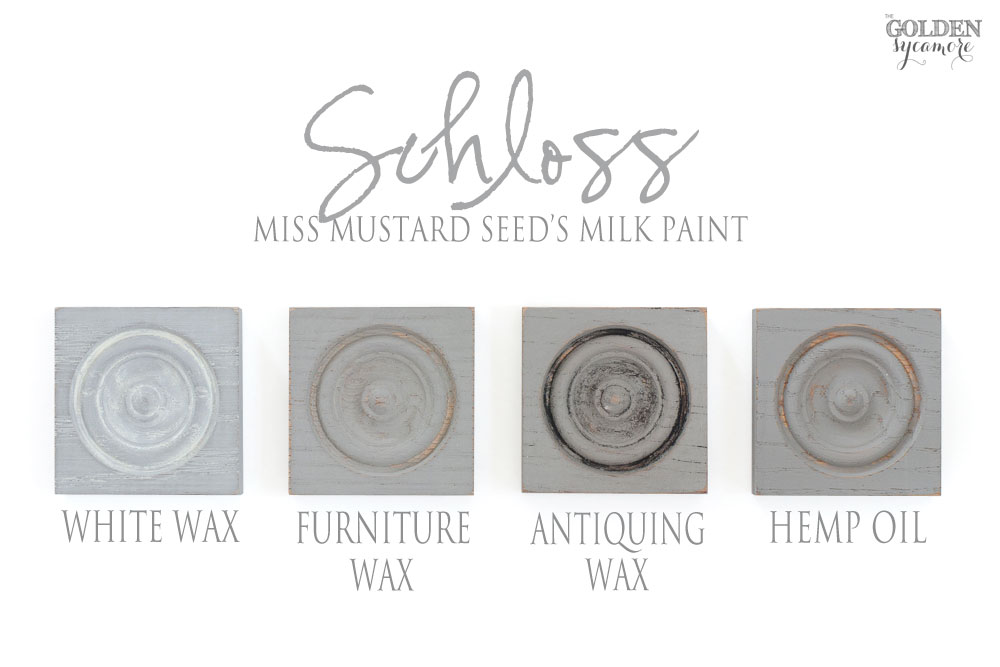 Miss Mustard Seed's Milk Paint European colors & finishes - Schloss