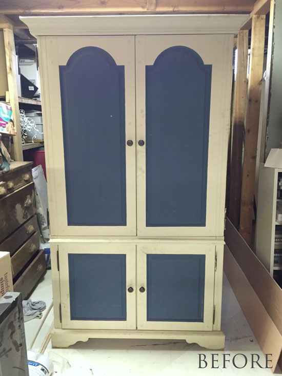 armoire---before