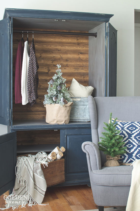 Beautiful rustic armoire
