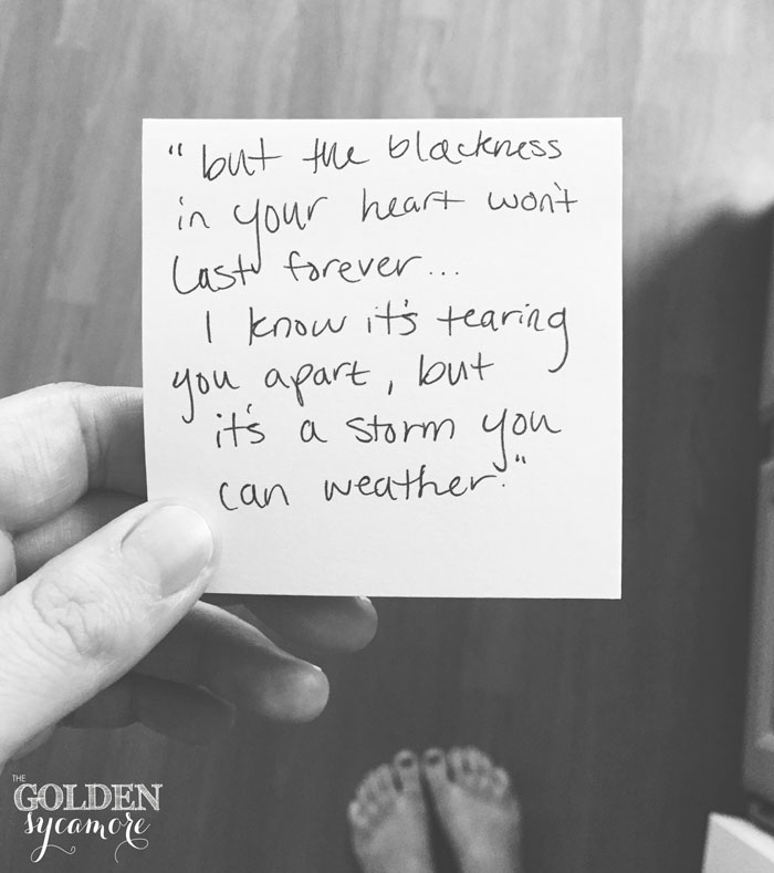 O Sister quote by City & Colour