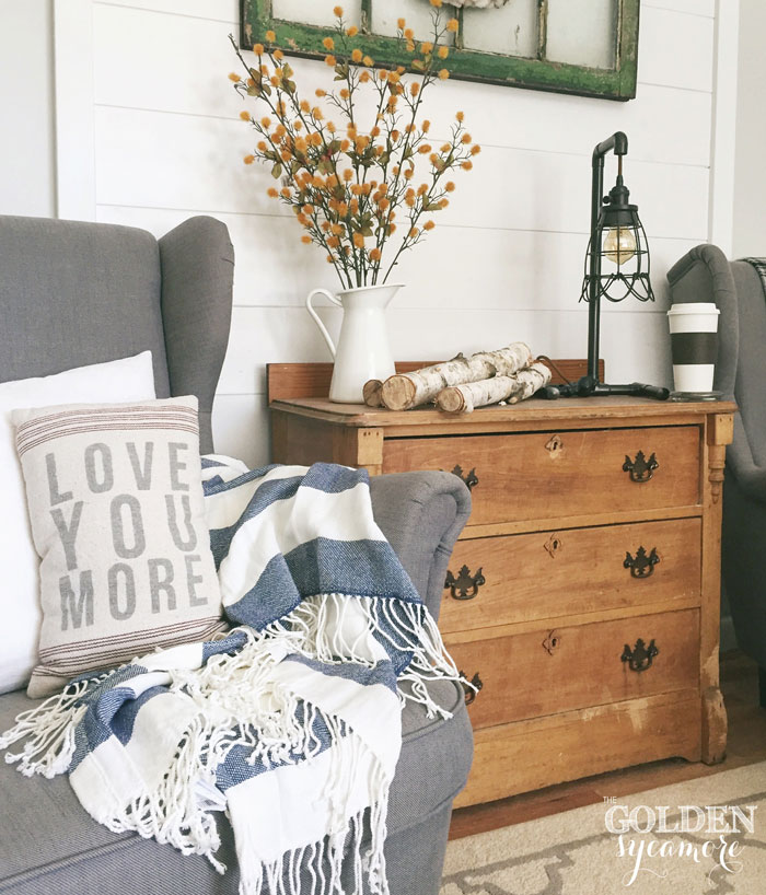 Fall decorating - The Golden Sycamore