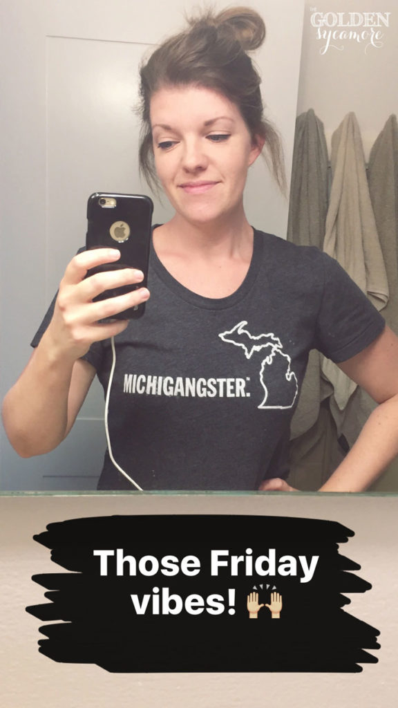 Michigangster shirt - The Golden Sycamore
