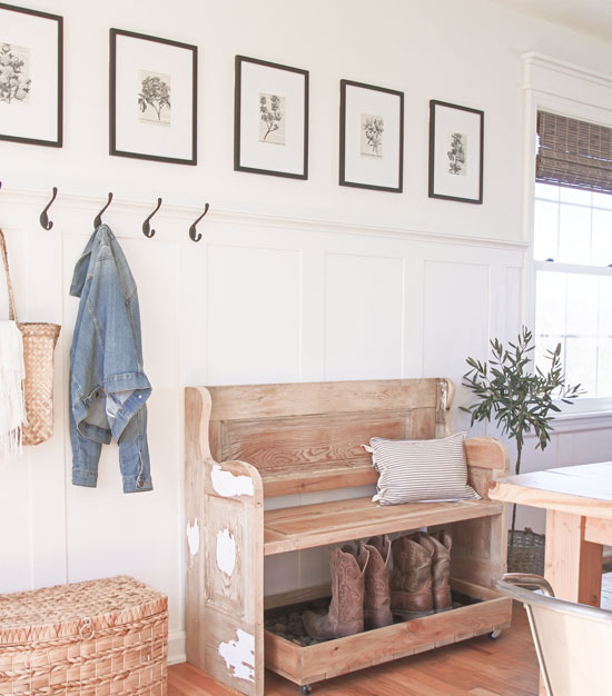 Entryway - Farmhouse Charm