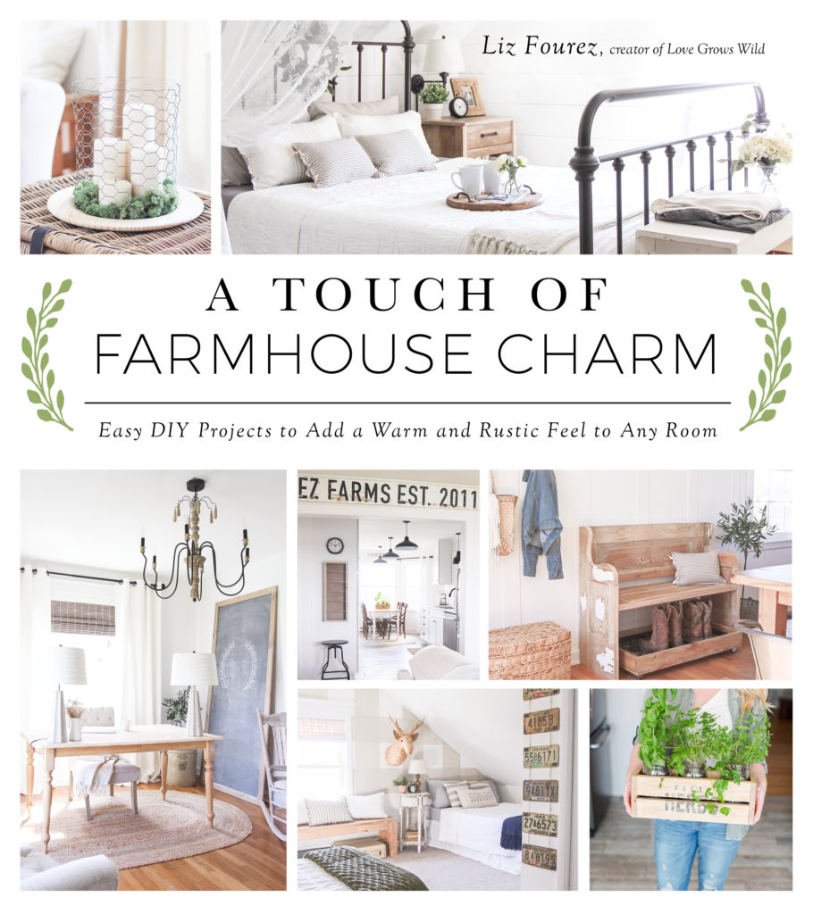 A Touch of Farmhouse Charm - book cover