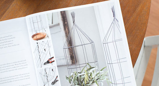 DIY Wire Cloche & Farmhouse Charm Book