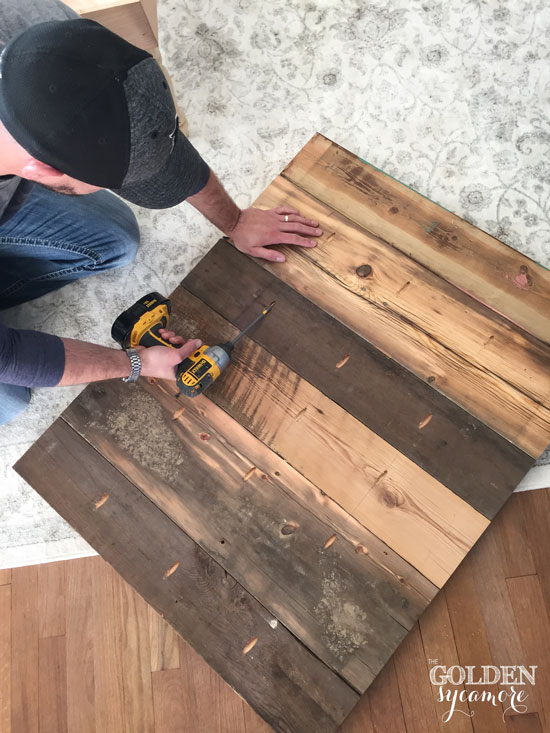 building a rustic coat rack