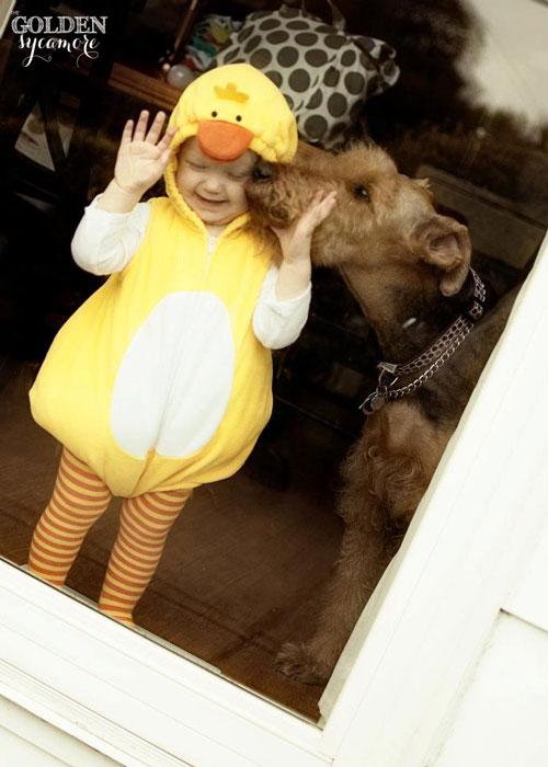 Bailey and Rylan Halloween